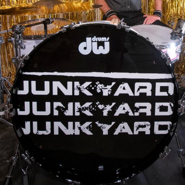 """Junkyard """"Lifer"""" Bass Drum head"""