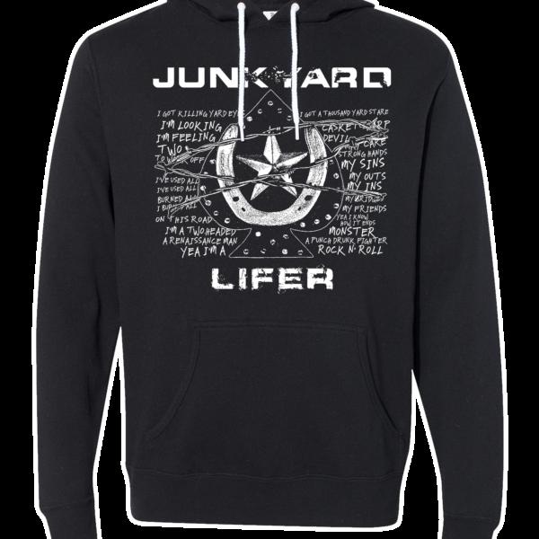 """Junkyard """"Lifer"""" Pullover Hoodie"""